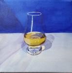 Glencairn nosing glass and Scotch